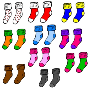 Counting in 2s (socks) Interactive Mad Maths