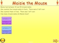 Maisie the Mouse Interactive
