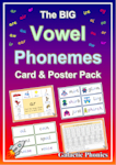 The BIG Vowel Phoneme Card & Poster Pack