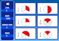 Sheppard Software - Matching Equivalent Fractions